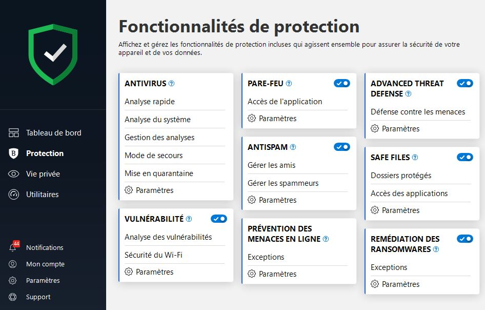 Protection Bitdefender