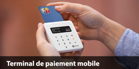 Terminal de paiement mobile sur tablette ou smartphone