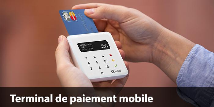 Terminal paiement mobile