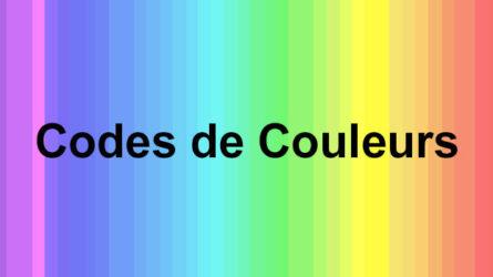 Tous savoir sur les codes couleurs : CMJN, HEX, RVB…